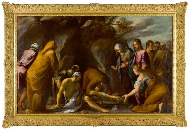 View 2. Thumbnail of Lot 106. The Raising of Lazarus.
