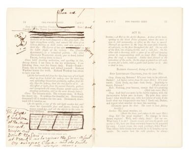 View 1. Thumbnail of Lot 202. Collins, Frozen Deep, 1866, author's corrected copy.
