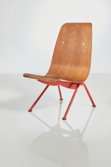 "View 2. Thumbnail of Lot 359. ""Antony"" Chair, Model No. 356."