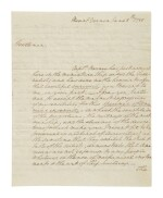 Washington, George. Autograph letter signed, to William Smith, 8 June 1788