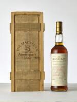 The Macallan 25 Year Old Anniversary Malt 43.0 abv 1968 (1 BT70)