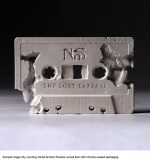 DANIEL ARSHAM X NAS | LOST TAPES 2 CRYSTAL ERODED CASSETTE, 2019. ONE OF 20