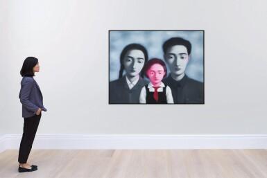 View 6. Thumbnail of Lot 1120. Zhang Xiaogang 張曉剛   Bloodline - The Big Family No. 1 1997 血緣:大家庭1號 1997.
