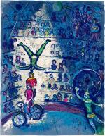 MARC CHAGALL   LE CIRQUE: ONE PLATE (M. 491; C. BKS. 68)