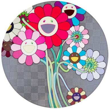 View 3. Thumbnail of Lot 36. TAKASHI MURAKAMI   FLOWERS FOR ALGERNON; AND WARHOL/SILVER.