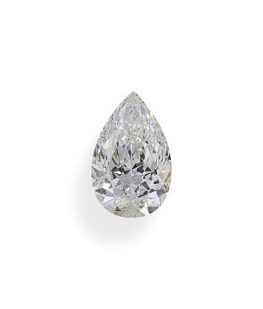 A 3.04 Carat Pear-Shaped Diamond, D Color, VVS2 Clarity