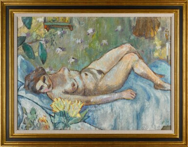 View 2. Thumbnail of Lot 44. Nude.