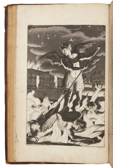 MILTON, JOHN | Paradise Lost. A Poem in Twelve Books. London: by Miles Flesher for Jacob Tonson, 1688