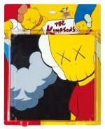 KAWS | UNTITLED (KIMPSONS) (Package Painting Series) 無題(KIMPSONS)(包裝畫系列)