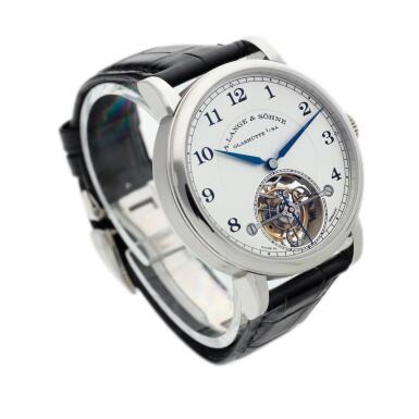 View 3. Thumbnail of Lot 297. Reference 730.025F 1815 Tourbillon  A limited edition platinum tourbillon wristwatch with zero-reset mechanism, Circa 2016.