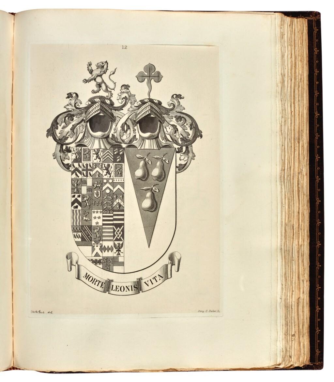 FOX-DAVIES, ARTHUR CHARLES | ARMORIAL FAMILIES. A COMPLETE PEERAGE, BARONETAGE, AND KNIGHTAGE. EDINBURGH: T.C. AND E.C. JACK, 1895
