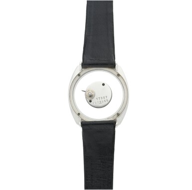 View 5. Thumbnail of Lot 58. REFERENCE 17007 A WHITE GOLD OVAL MYSTERY WATCH, CIRCA 1965.