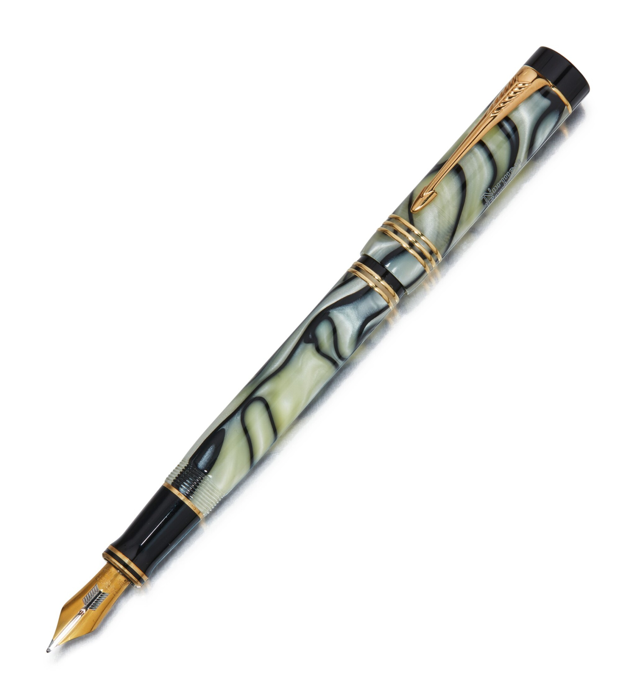 View full screen - View 1 of Lot 76. PARKER | A LIMITED EDITION VINTAGE DUOFOLD CENTENNIAL FOUNTAIN PEN, CIRCA 1996.
