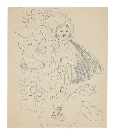 ANDY WARHOL   UNTITLED (CHILD IN ELF COSTUME)