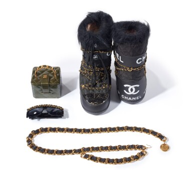 View 2. Thumbnail of Lot 17. COLLECTION OF ACCESSORIES, CHANEL.