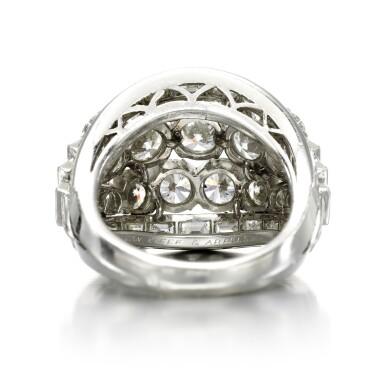 View 3. Thumbnail of Lot 156. Diamond ring.