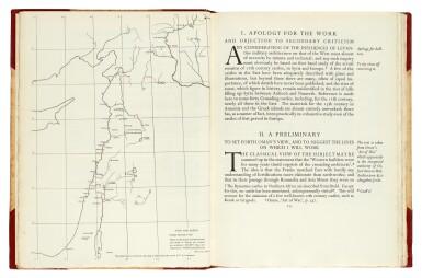 View 2. Thumbnail of Lot 122. LAWRENCE, T.E.   Crusader Castles, Golden Cockerel Press, 1936, no.263/1000 copies, 2 volumes.