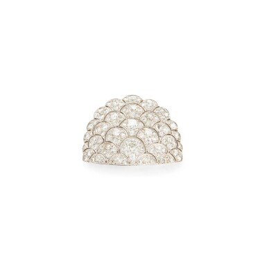 DIAMOND BROOCH, RENÉ BOIVIN