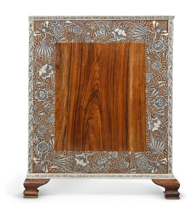 View 2. Thumbnail of Lot 175. AN ANGLO-INDIAN IVORY INLAID ROSEWOOD WRITING OR DRESSING TABLE, VIZAGAPATAM, MID-18TH CENTURY.