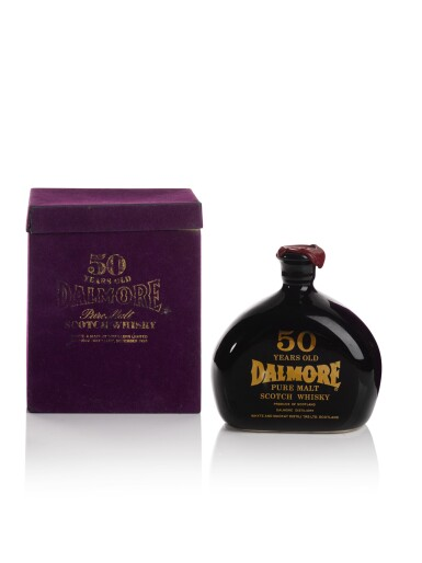View 3. Thumbnail of Lot 244. THE DALMORE 50 YEAR OLD  CERAMIC DECANTER 52.0 ABV 1926  .