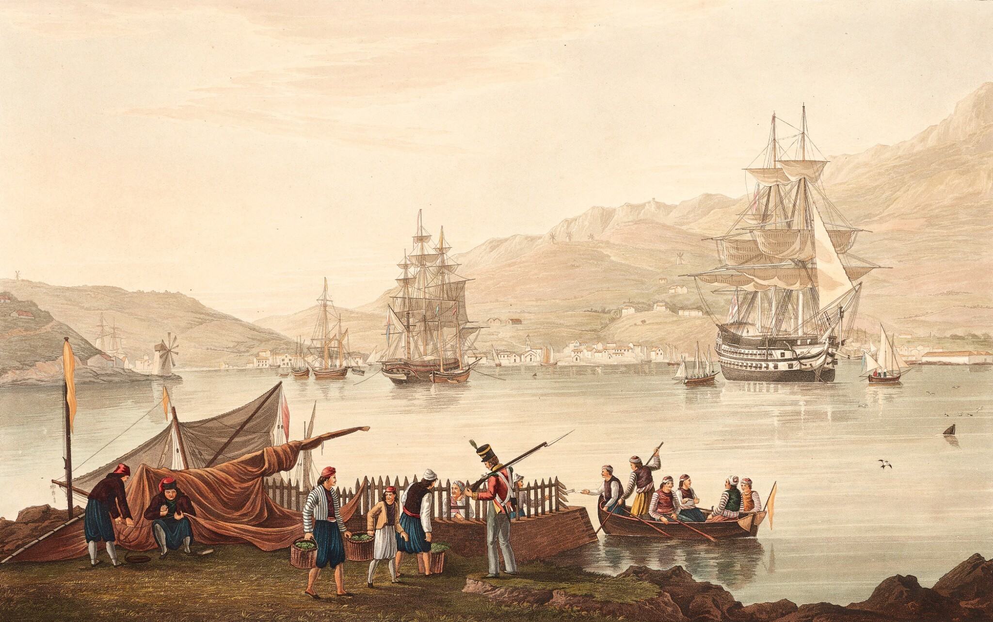 View full screen - View 1 of Lot 165. Cartwright | Views in the Ionian Islands, 1821.