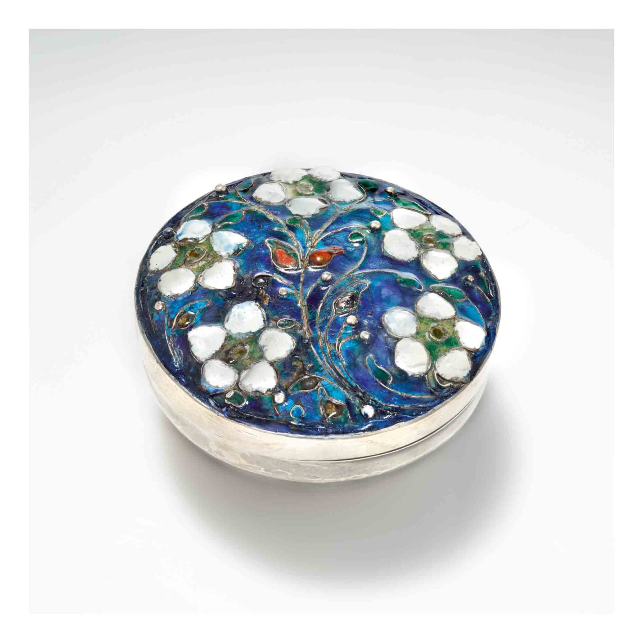 View 1 of Lot 334. Lidded Box.