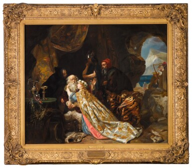 View 2. Thumbnail of Lot 101. King Lear and Cordelia.