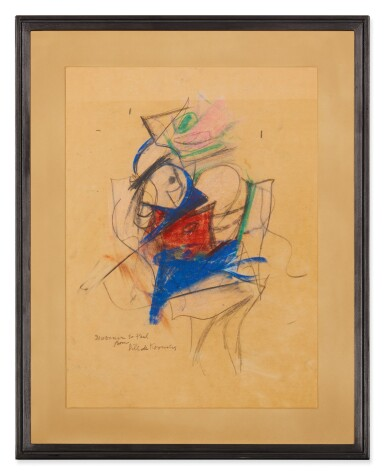 View 2. Thumbnail of Lot 36.  WILLEM DE KOONING | UNTITLED (WOMAN).