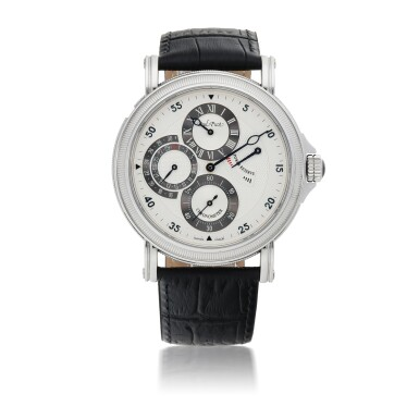 View 1. Thumbnail of Lot 914. ATELIER CHRONOMETER, REF 3040 SG STAINLESS STEEL WRISTWATCH WITH DATE, POWER-RESERVE INDICATION AND REGULATOR DIAL CIRCA 2005.