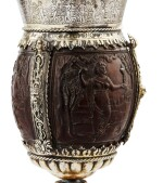 COCONUT-CUP WITH SILVER-GILT MOUNTS, PROBABLY GERMANY CIRCA 1860 | NOIX DE COCO MOTÉE EN VERMEIL, PROBABLEMENT ALLEMAGNE VERS 1860