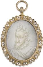 FRENCH, PARIS, LATE 16TH/ EARLY 17TH CENTURY | CAMEO WITH HENRI IV OF FRANCE (1553-1610)