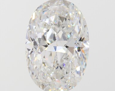 A 1.03 Carat Oval-Shaped Diamond, F Color, VS1 Clarity