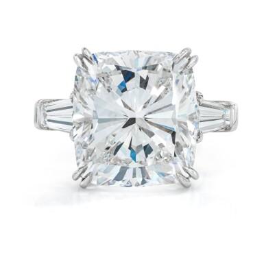 View 1. Thumbnail of Lot 17. Diamond Ring.