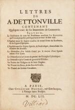 Lettres de A. Dettonville ... Paris, 1658-1659. Rarissime édition originale en reliure de l'époque.