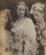 JULIA MARGARET CAMERON | THREE KING'S DAUGHTERS FAIR (MARY PEACOCK, ANNIE CHINERY CAMERON, AND EMILY PEACOCK)