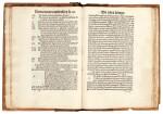 Ficinus, De triplici vita, Basel, 1498, half calf over wooden boards