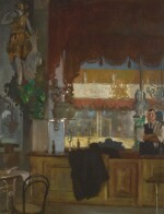 SIR WILLIAM ORPEN, R.W.S., N.E.A.C., R.A., R.H.A. | THE BAR IN THE HALL-BY-THE-SEA, MARGATE