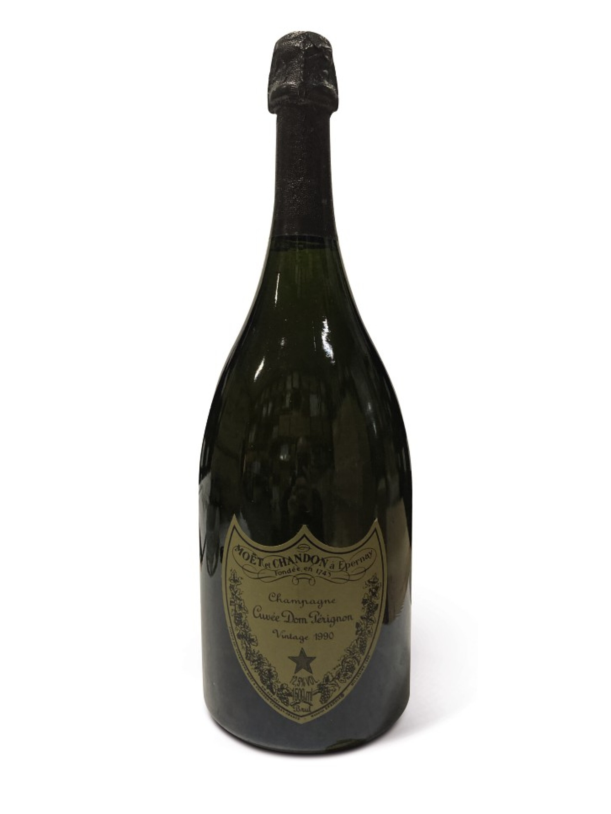 View full screen - View 1 of Lot 21. Dom Pérignon 1990 (3 MAG).