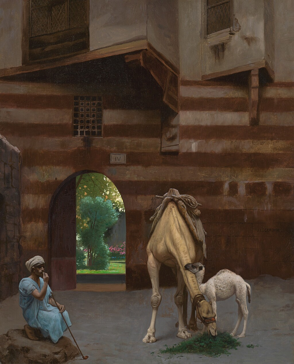 JEAN-LÉON GÉRÔME | THE CAMEL DRIVER