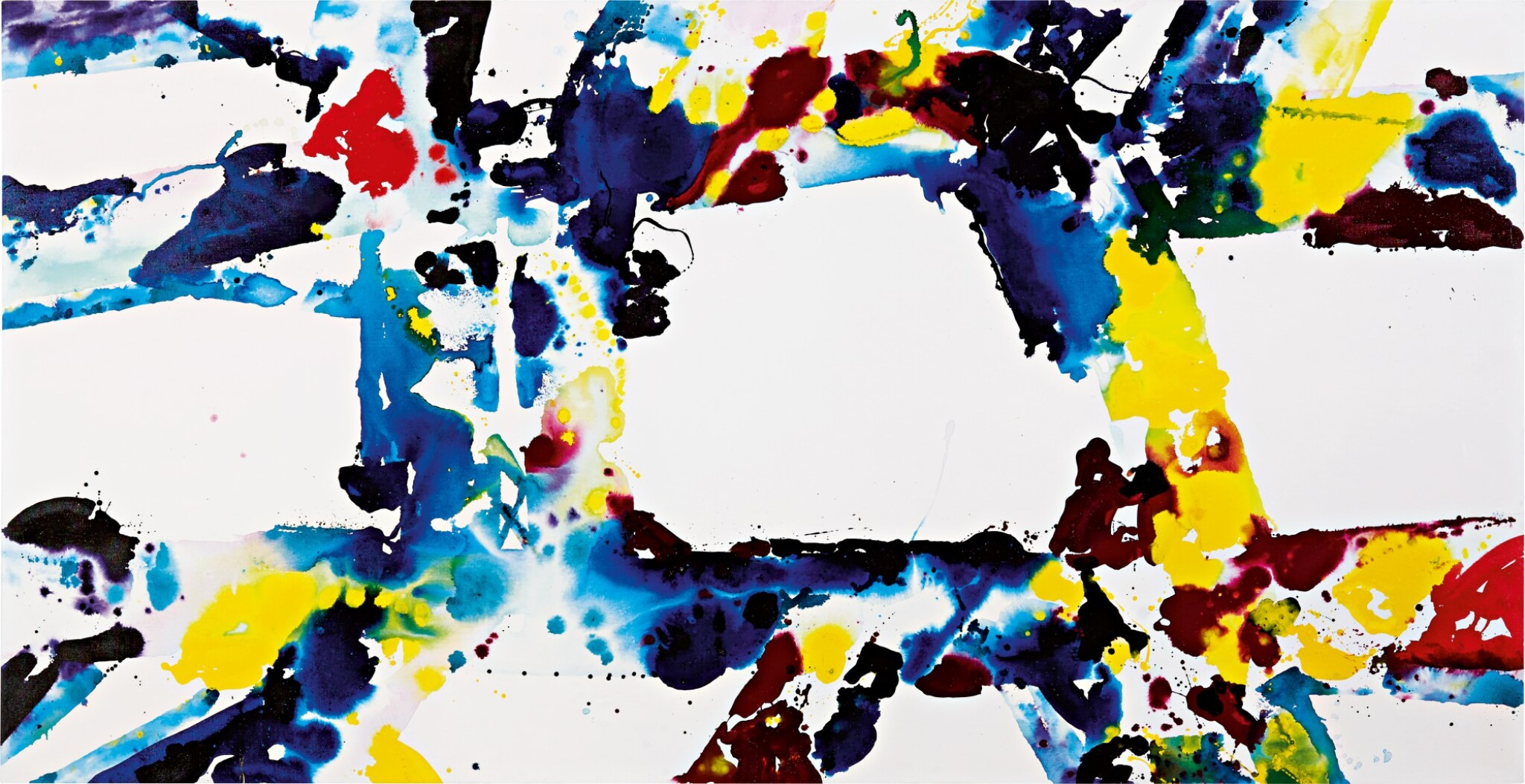 View full screen - View 1 of Lot 608. Sam Francis 山姆・弗朗西斯 | Untitled 無題.
