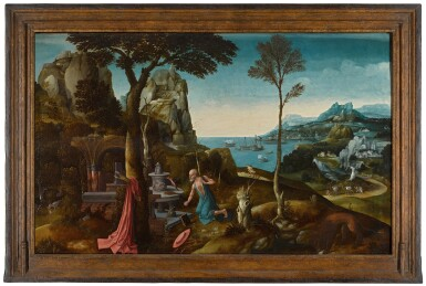 View 2. Thumbnail of Lot 2. Saint Jerome in the wilderness | 《荒野上的聖杰羅姆》.