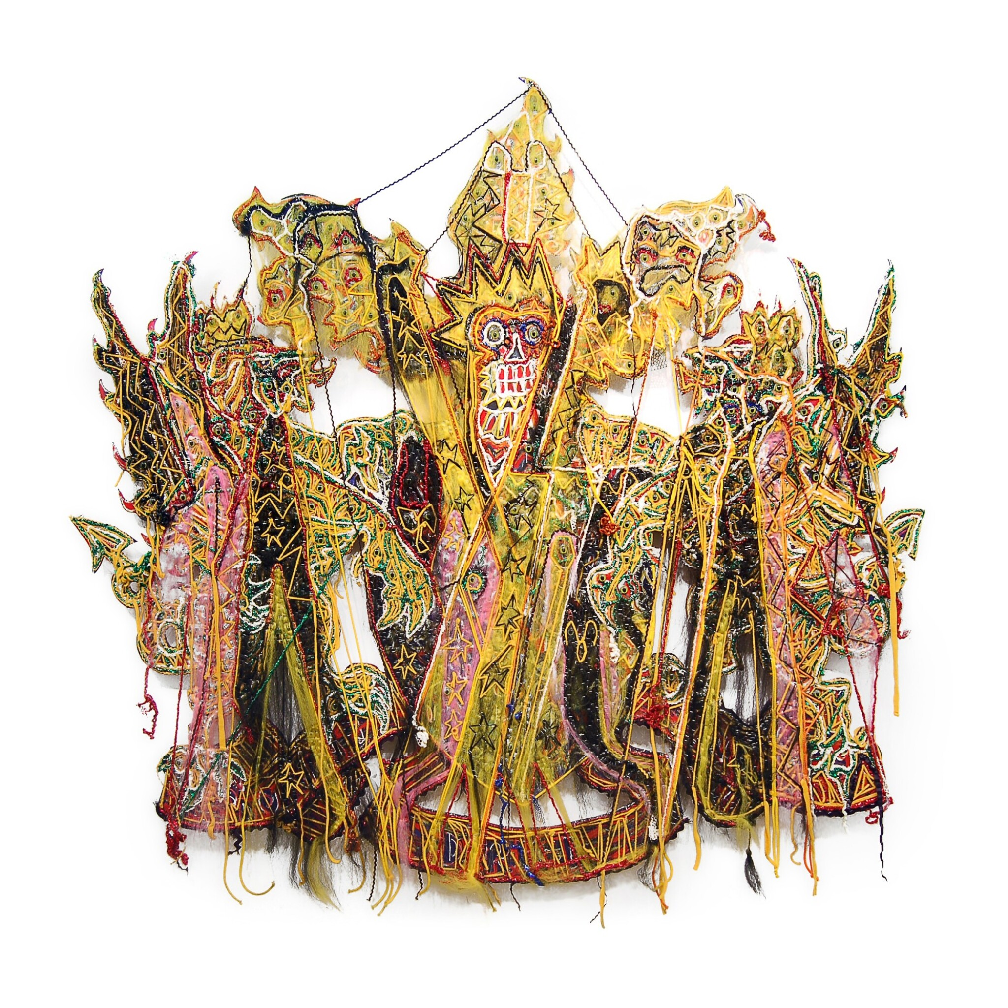 View full screen - View 1 of Lot 185. Hew Locke, b. 1959 | All that Glitters (The Coat of Arms of the City of London).