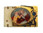 A GOLD, ENAMEL AND PEARL SINGING BIRD AND MUSICAL BOX, RÉMOND, LAMY, MERCIER & CO., GENEVA, 1815-1820