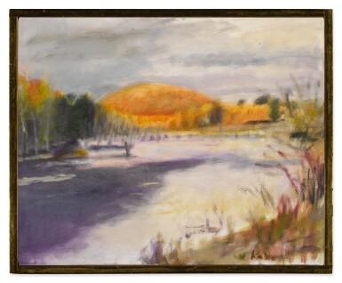 View 2. Thumbnail of Lot 133. Gray Fall Day.