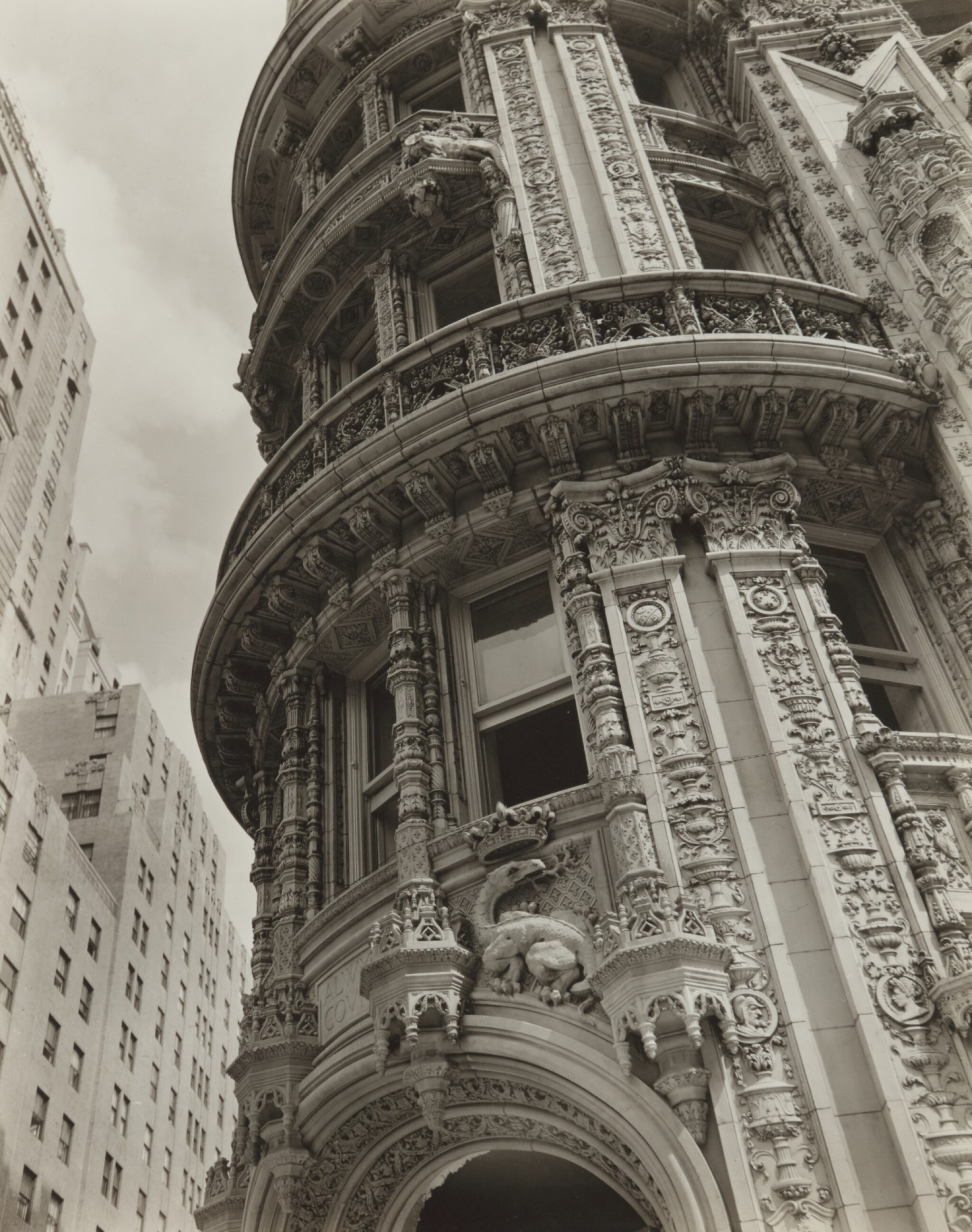 View full screen - View 1 of Lot 61. 'Façade: Alwyn Court, 174-182 West 58th Street and 911-917 Seventh Avenue, Manhattan'.