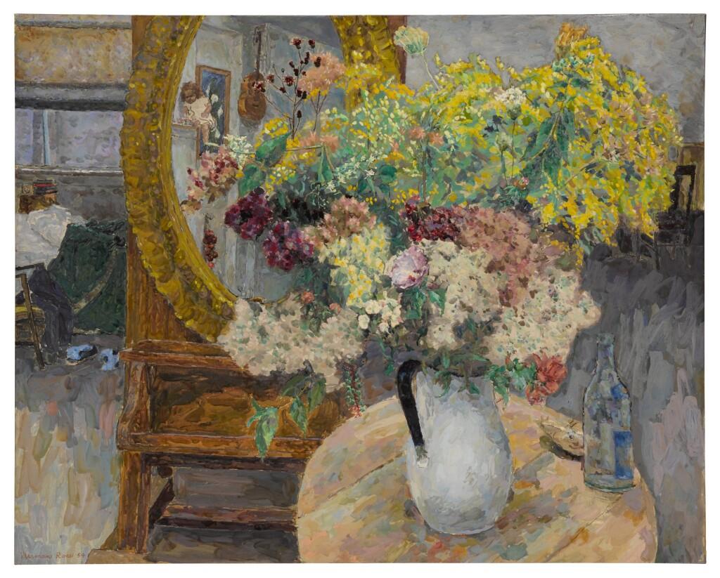 HERMAN ROSE | FLOWERS IN MY STUDIO