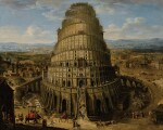 FLEMISH SCHOOL, 17TH CENTURY | THE TOWER OF BABEL