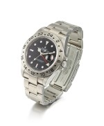 ROLEX | EXPLORER II, REFERENCE 16570, A STAINLESS STEEL DUAL TIME ZONE WRISTWATCH WITH DATE AND BRACELET, CIRCA 2007