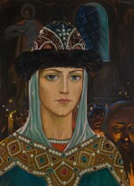 ILYA SERGEEVICH GLAZUNOV  | EUDOXIA OF MOSCOW, FROM THE KULIKOVO FIELD SERIES