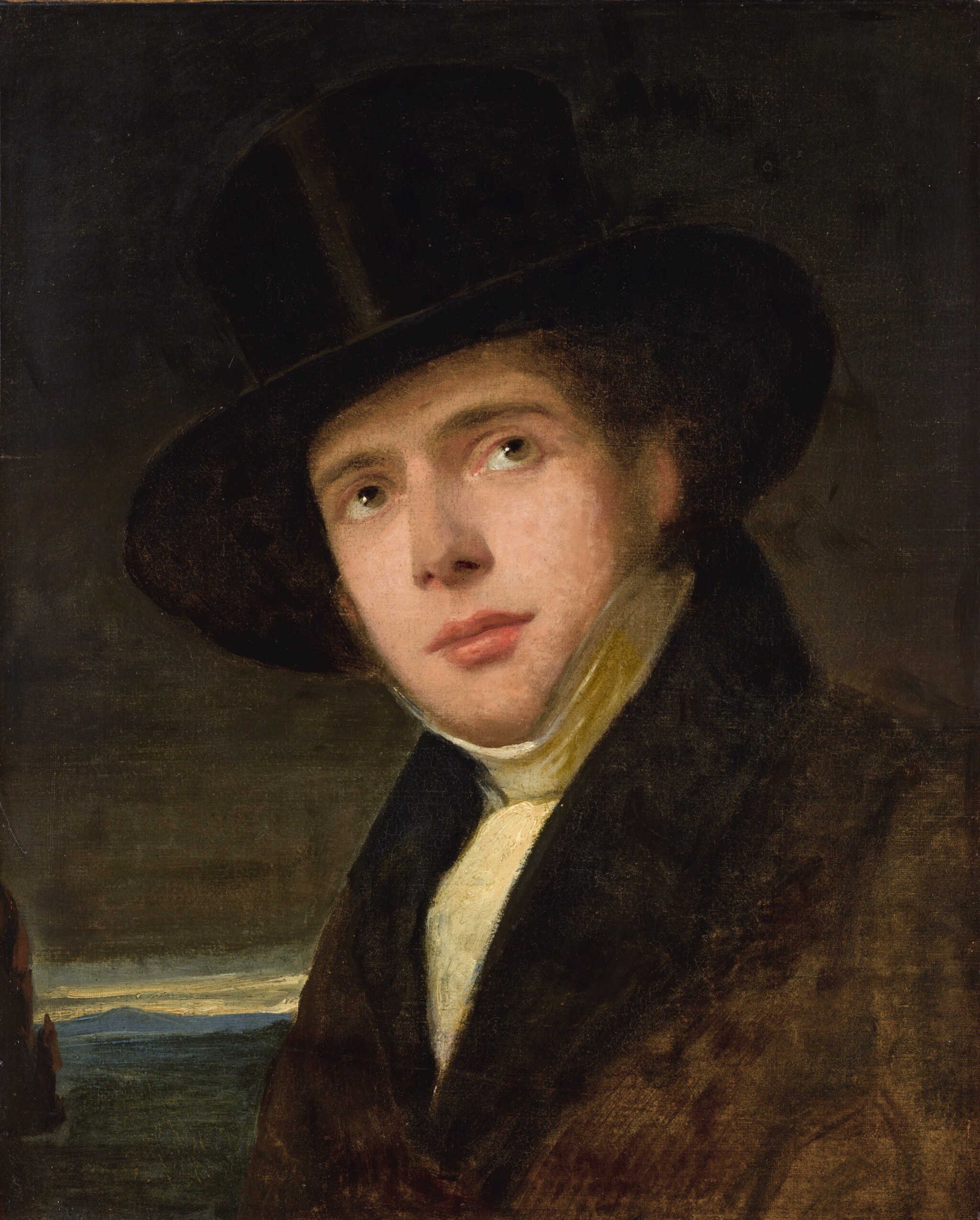 FRIEDRICH VON AMERLING | Andreas Amerling in a Top Hat